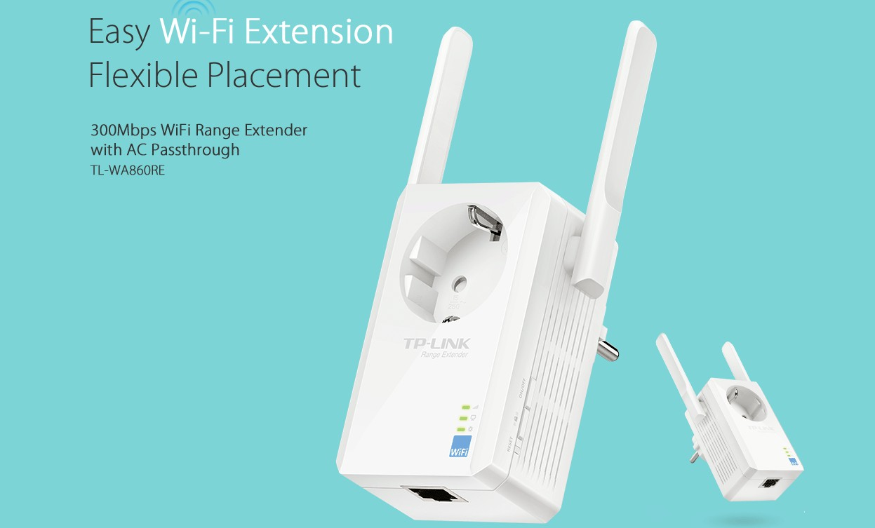 Tp Link Tl Wa860re 300mbps Wi Fi Range Extender Excel Technologies Router Wireless Wr840n 300 Mbps Specifications Technical Details